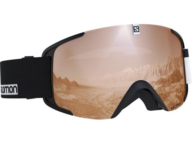 Salomon Xview Gafas, black/white